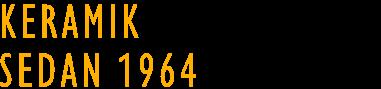 Keramik sedan 1964