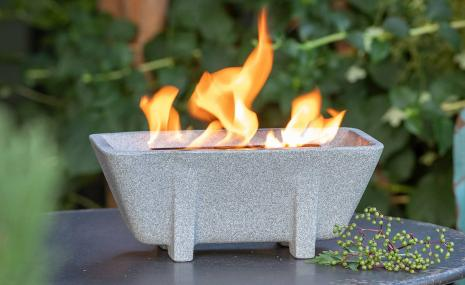 Outdoor Waxburner XL Granicium® with Lid
