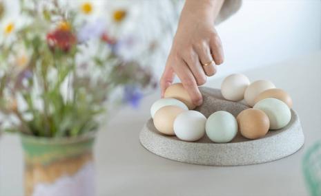 Rock&Roll® - Patentierte Eierlagerung