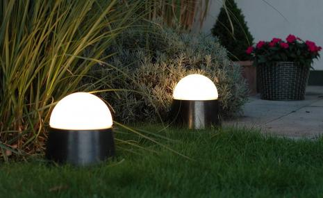 Luxor CeraLava® mit eingebauter Steckdose