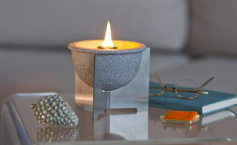 Schmelzfeuer Indoor M Granicium® mit Deckel