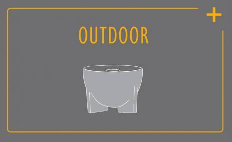 Komfort-Service für das Schmelzfeuer Outdoor