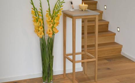 Tisch Granicium® Eiche natur hoch