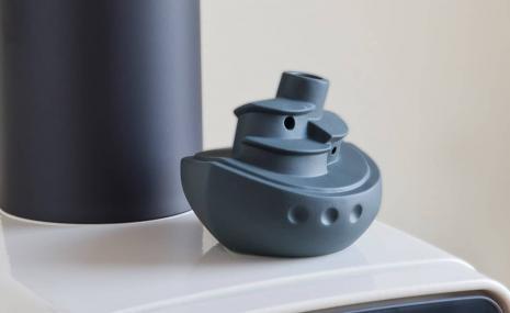 Steamer humidifier, anthracite
