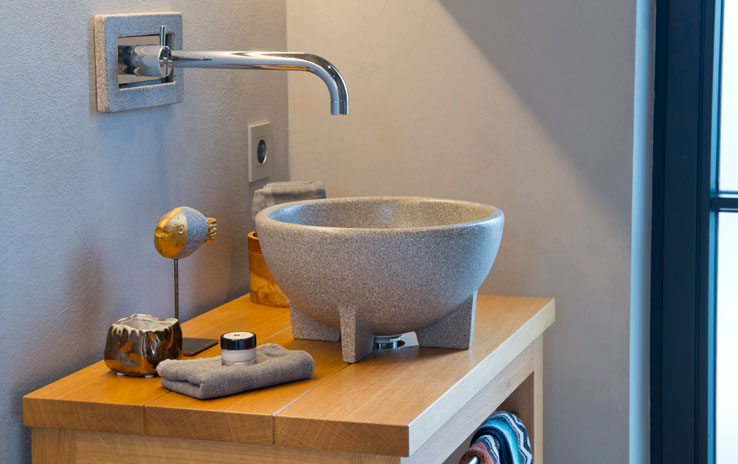 waschbecken granicium. Black Bedroom Furniture Sets. Home Design Ideas