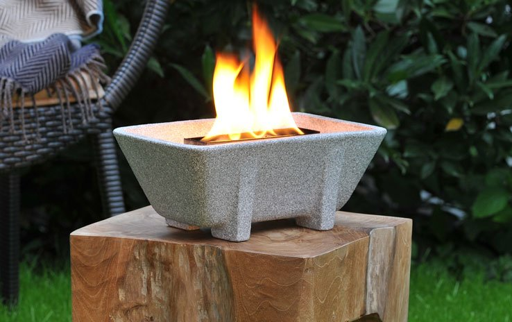 Waxburner Outdoor XL Granicium® with Lid | DENK Keramik