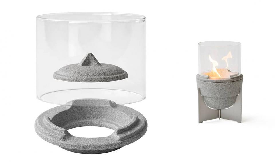Lichtglas-Aufsatz für Schmelzfeuer® Outdoor L Granicium®