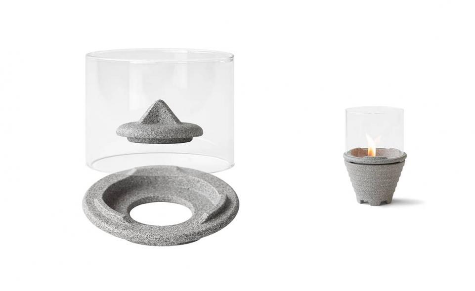 Windglas-Aufsatz für Schmelzfeuer® Indoor Granicium®