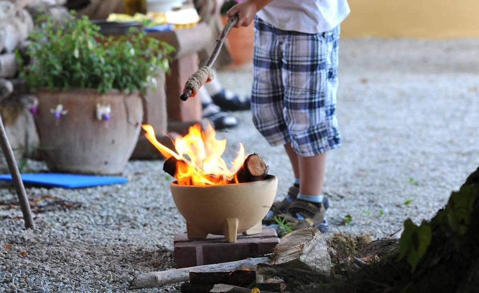 Zwergenfeuer - Die Feuerschale für Kinder
