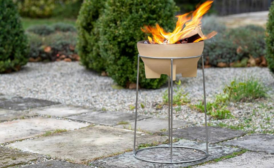 Set Brazier with Stand