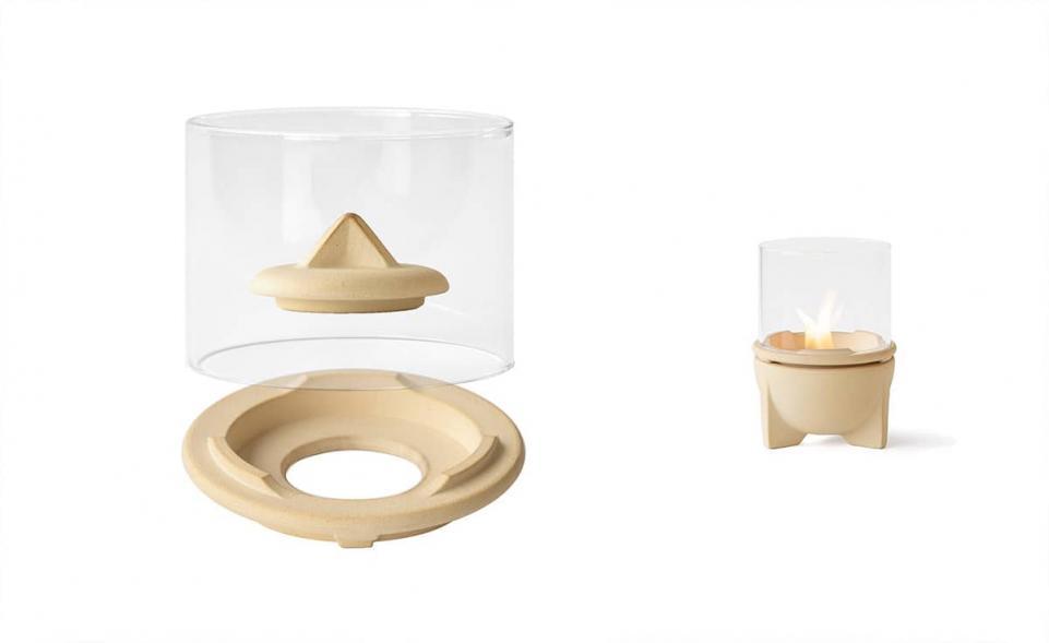 Windglas-Aufsatz für Schmelzfeuer® Indoor CeraNatur®