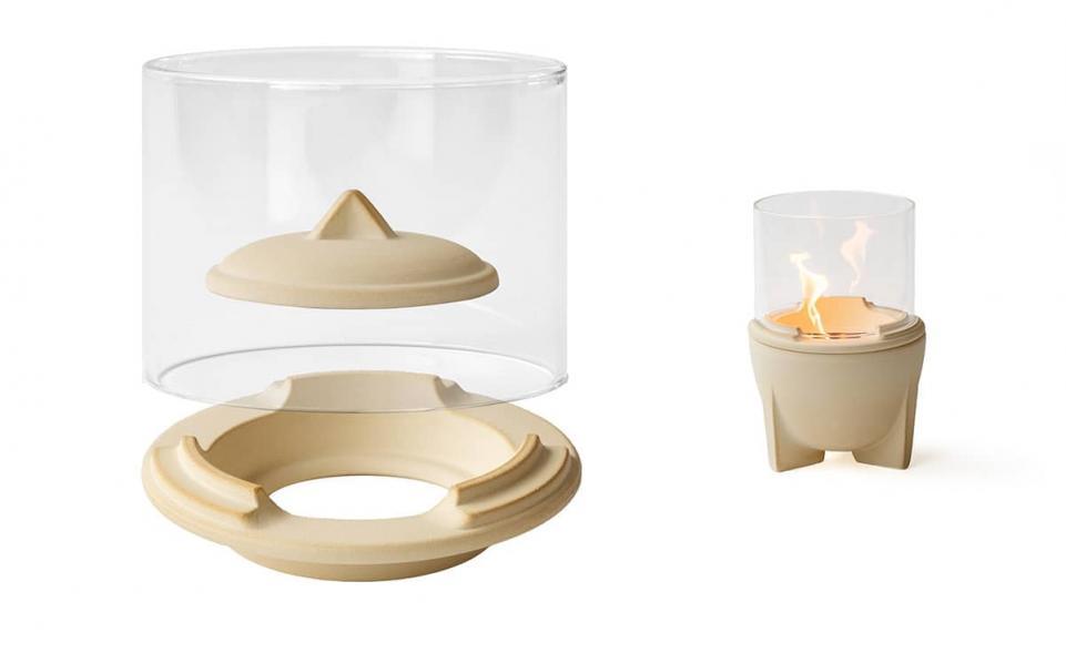 Lichtglas-Aufsatz für Schmelzfeuer® Outdoor CeraNatur®