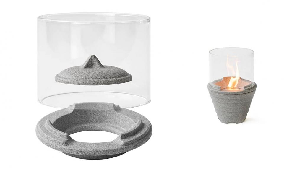 Lichtglas-Aufsatz für Schmelzfeuer® Outdoor Granicium®