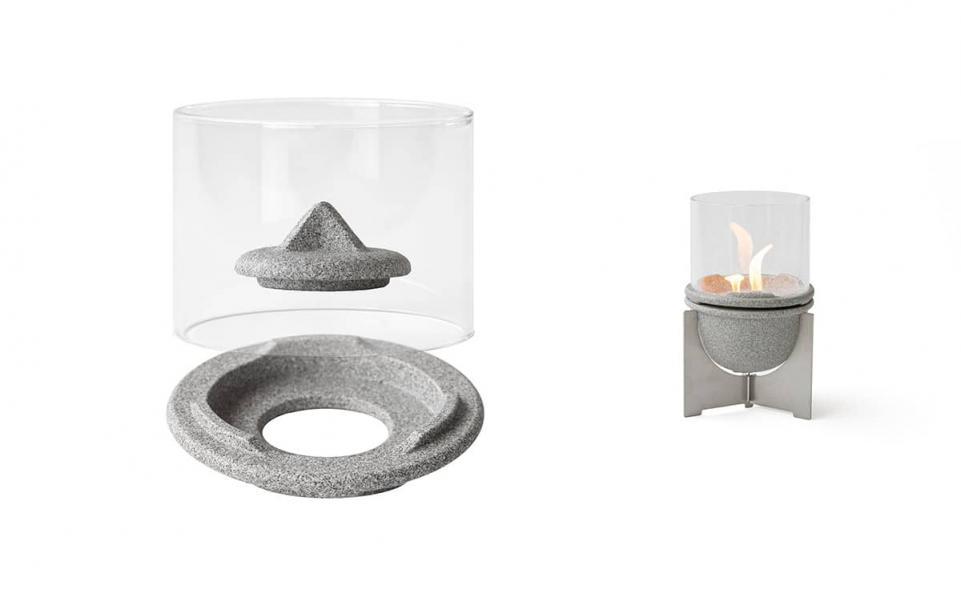 Windglas-Aufsatz für Schmelzfeuer® Indoor M Granicium®