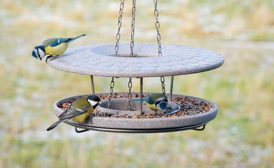 Bird Table Granicium® with Mounting