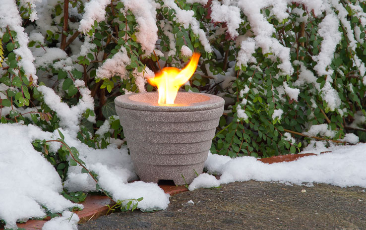 waxburner outdoor granicium denk keramik. Black Bedroom Furniture Sets. Home Design Ideas