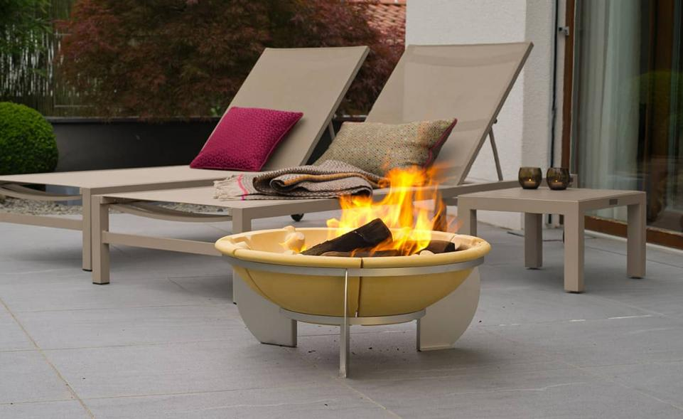 feurio feuerschale denk keramik. Black Bedroom Furniture Sets. Home Design Ideas