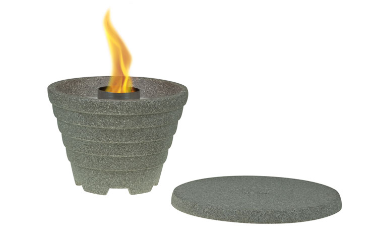 deckel schmelzfeuer outdoor granicium denk keramik. Black Bedroom Furniture Sets. Home Design Ideas