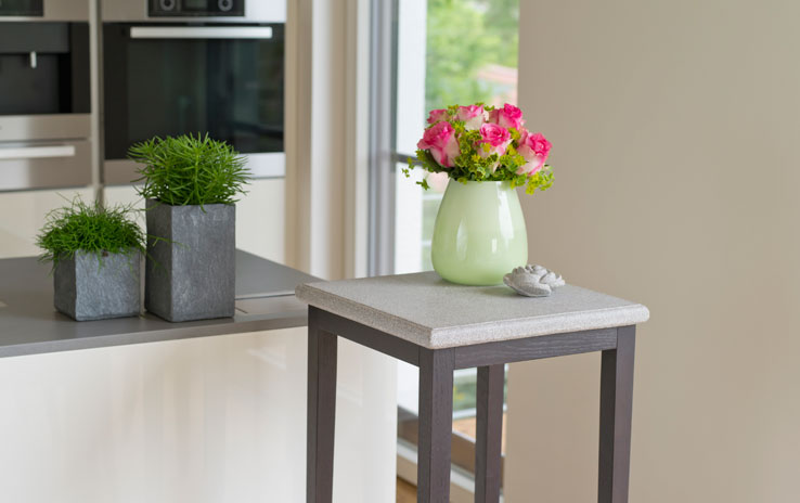 tisch granicium eiche wengefarben hoch denk keramik. Black Bedroom Furniture Sets. Home Design Ideas