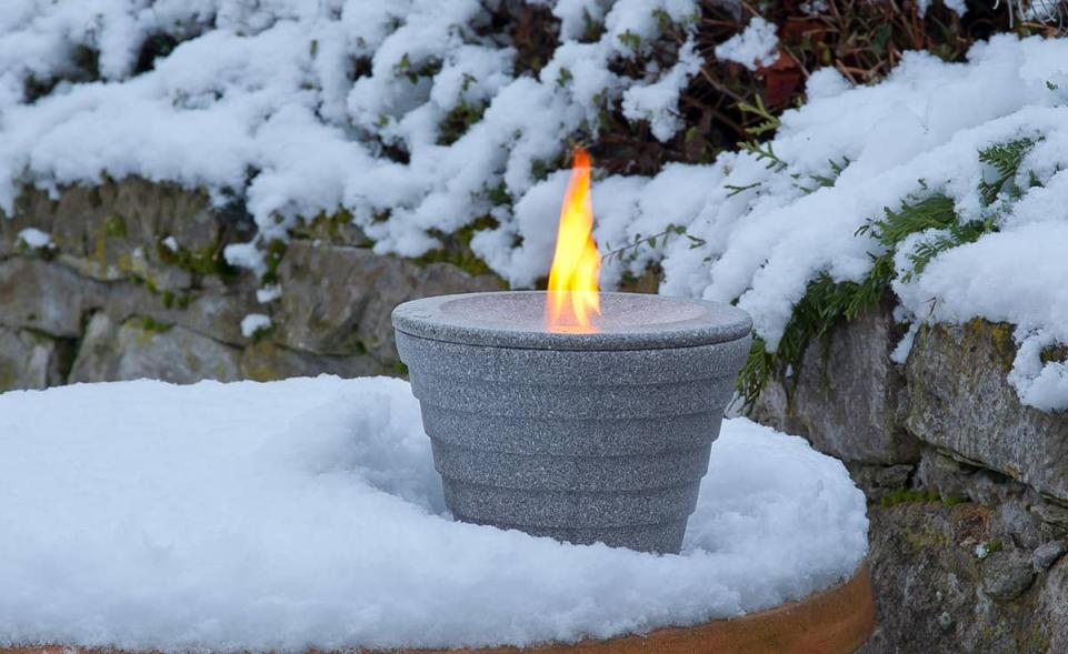 winterhaube schutzhaube schmelzfeuer outdoor granicium denk keramik. Black Bedroom Furniture Sets. Home Design Ideas