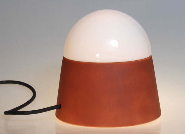 luxor cottorot mit eingebauter steckdose denk keramik. Black Bedroom Furniture Sets. Home Design Ideas