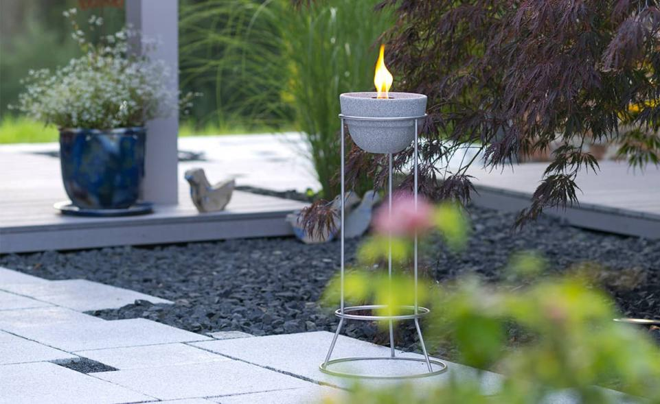 st nder edelstahl f r schmelzfeuer outdoor denk keramik denk keramik. Black Bedroom Furniture Sets. Home Design Ideas