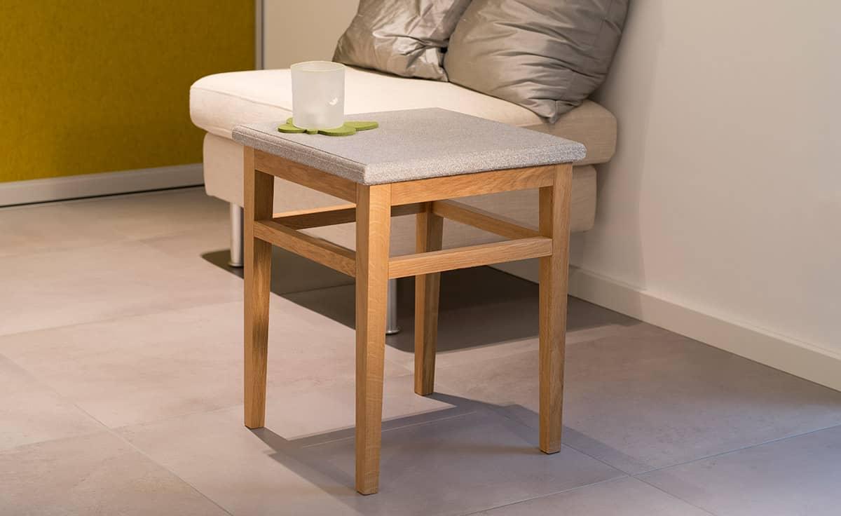 Tisch Granicium Eiche Natur Niedrig Denk Keramik