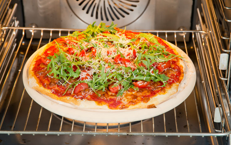 Pizzaplatte - Für Backofen und Kugelgrill