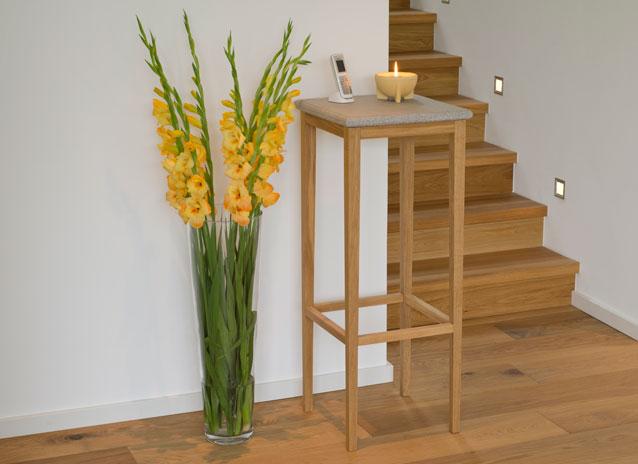 tisch granicium eiche natur hoch denk keramik. Black Bedroom Furniture Sets. Home Design Ideas