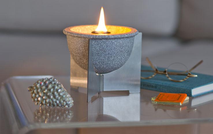 Schmelzfeuer Indoor M Granicium® mit Deckel | DENK Keramik