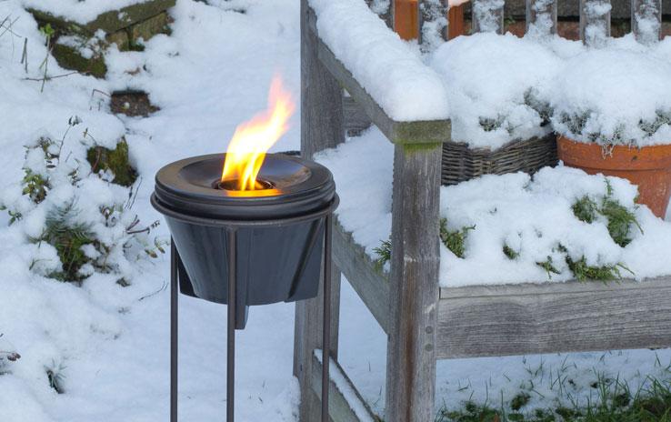 Winter Hood & Protective Hood for Waxburner Outdoor CeraLava® | DENK ...