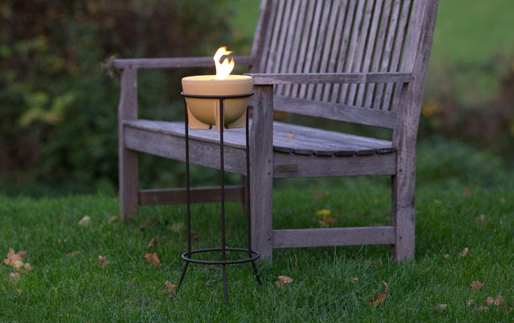 Ständer Stahl für alle Schmelzfeuer Outdoor | DENK Keramik